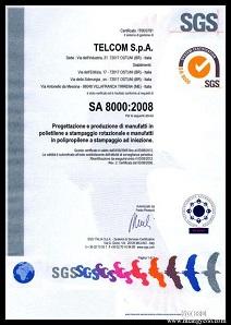 社会责任体系(SA8000:2014)